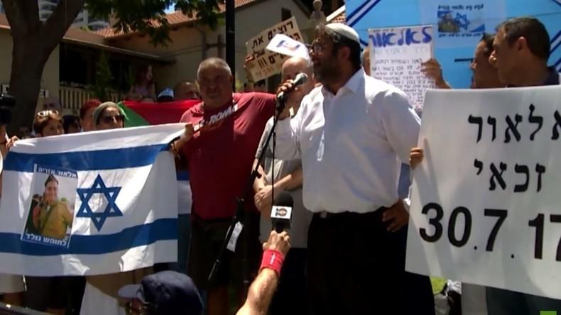 Israel: Demonstration gegen Gerichtsurteil - IDF-Soldat, der Palästinenser erschoss, bleibt in Haft