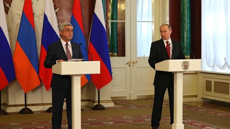 Russland und Armenien gründen gemeinsame Streitkräfte