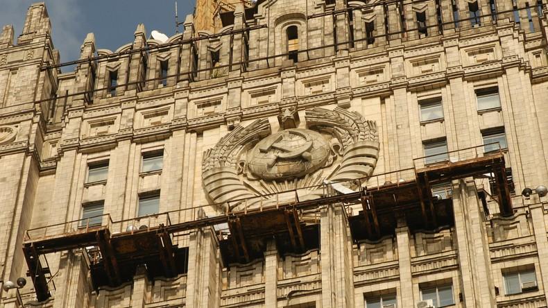 Russisches Außenministerium: Warschau zeigt unverhüllte Russophobie