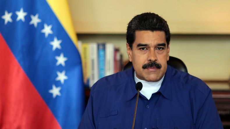 USA verhängen Sanktionen gegen Venezuelas Präsident Maduro