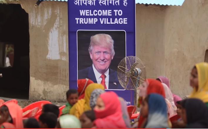 """Indisches Dorf wird in """"Trump Village"""" umbenannt – um für mehr Klos zu werben"""