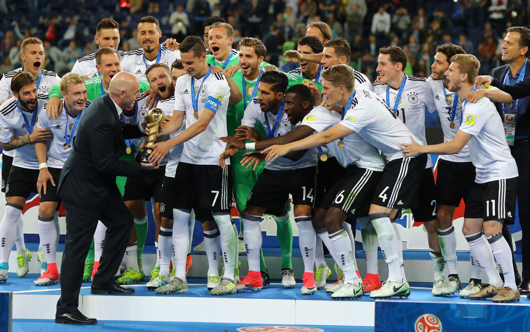 "Julian Draxler dankt Confed-Gastgeber Russland: ""Test mit Bravour bestanden"""