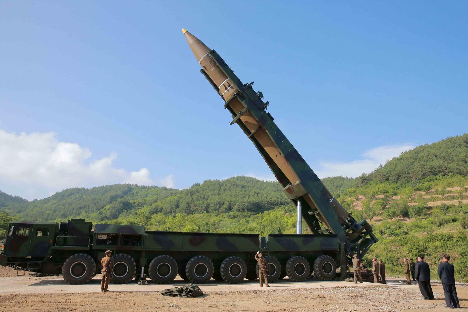 """Globale Bedrohung "": USA reagieren mit Raketenabschuss auf nordkoreanischen Raketentest"