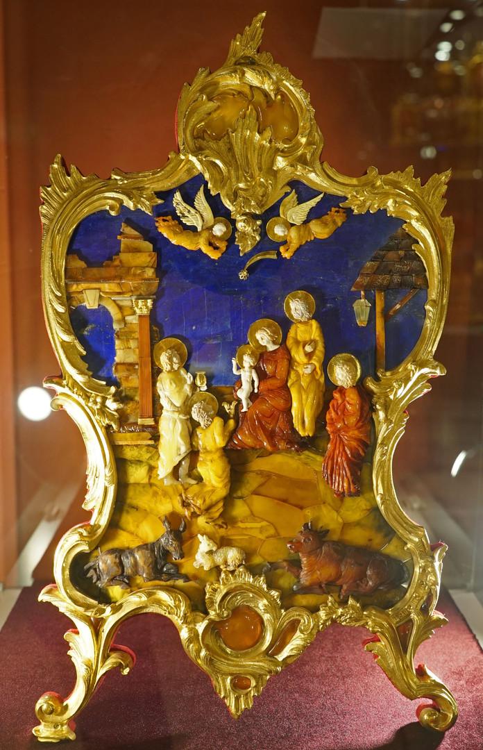 Die Anbetung des Jesuskindes durch die Heiligen Drei Könige