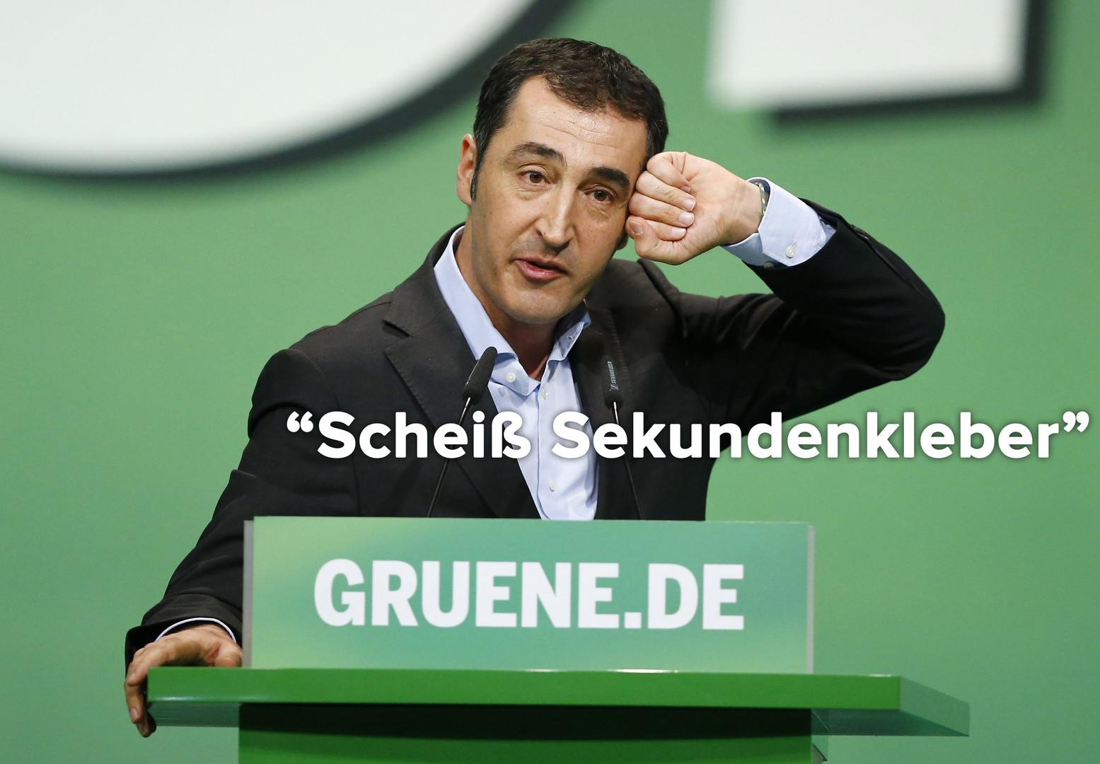 Grüne machen sich über FDP-Wahlplakate lustig