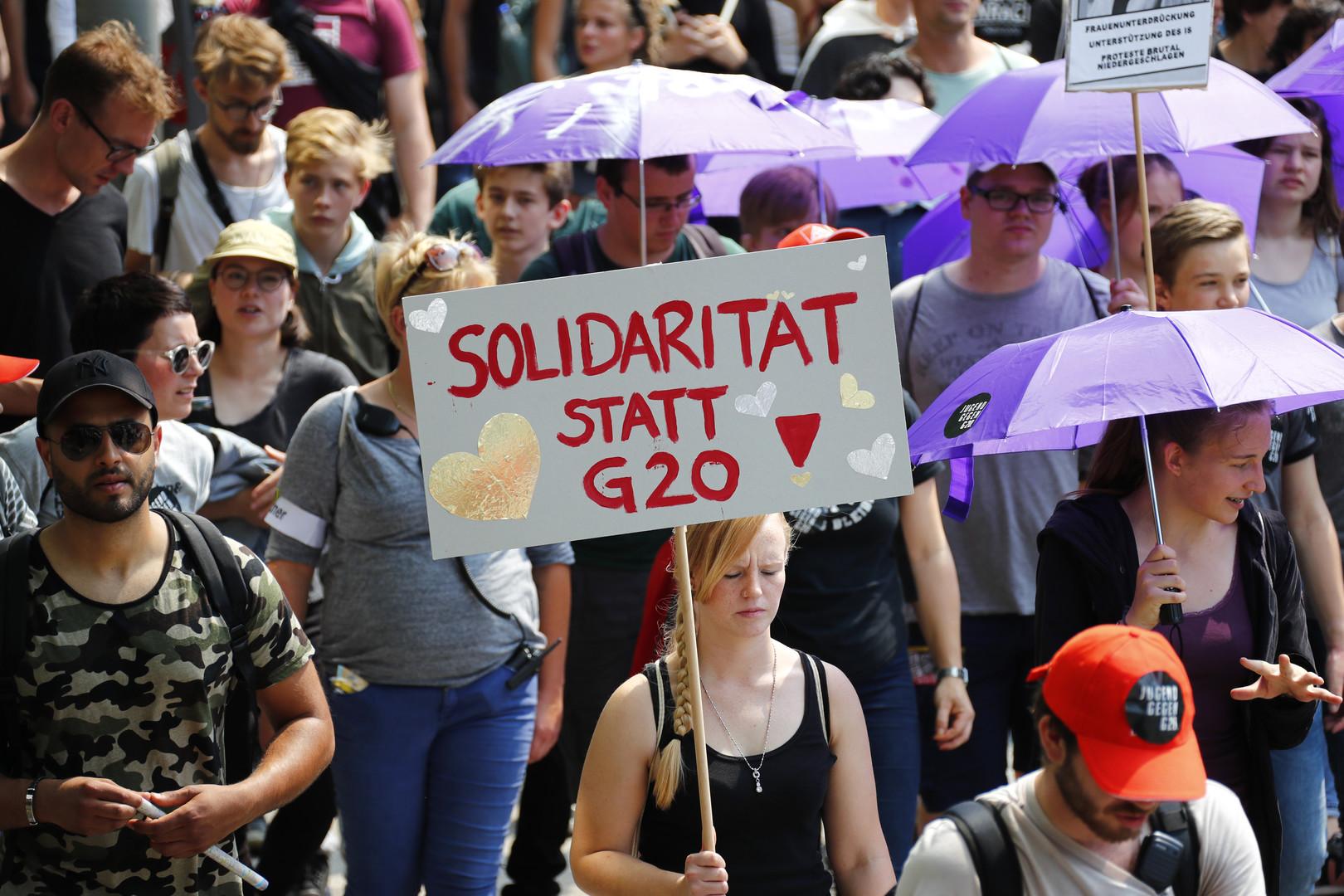 Wer schrieb das Drehbuch für die G20-Proteste in Hamburg?