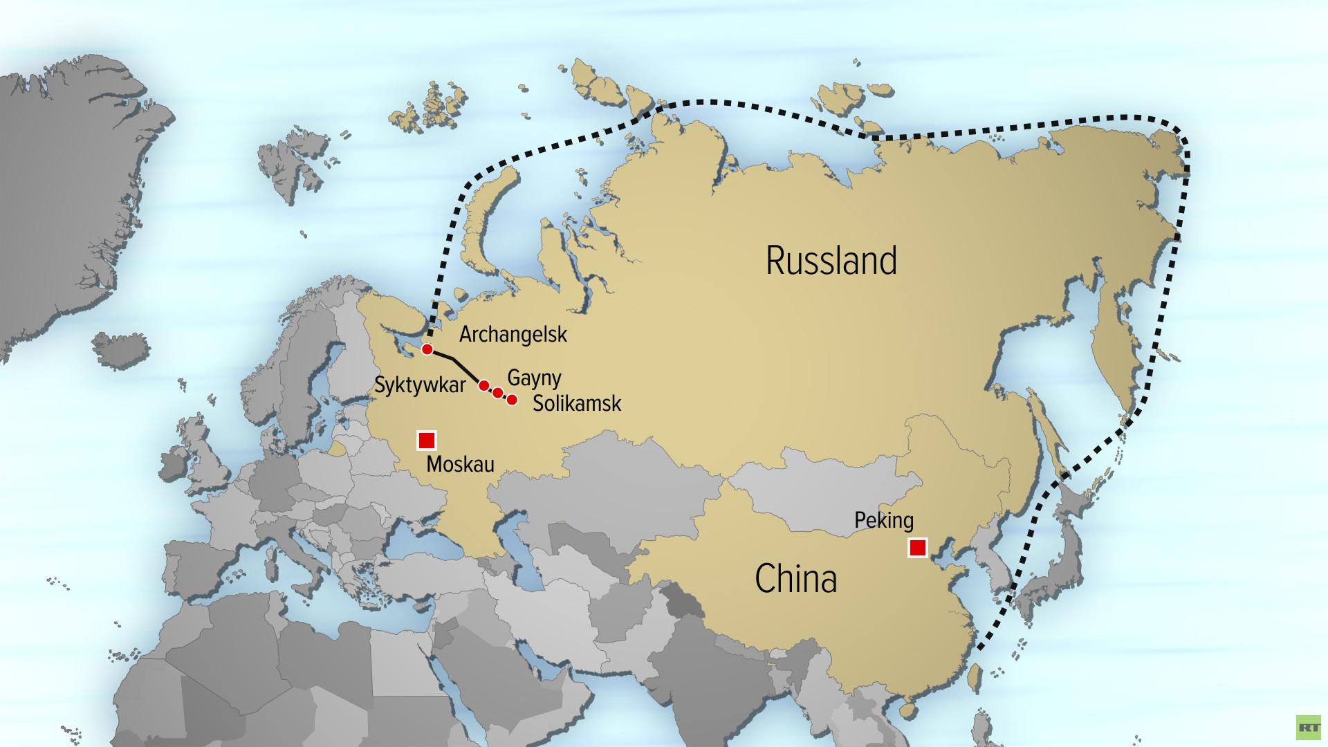 Neue Seidenstraße im Eis - China investiert Milliarden in Seeroute entlang des Arktischen Kreises
