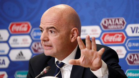 FIFA-Präsident Gianni Infantino: Keine Sanktionen gegen Russland