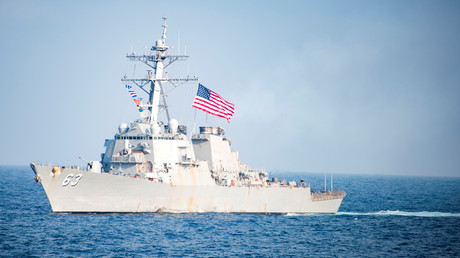 China verurteilt Manöver von US-Zerstörer im Südchinesischem Meer