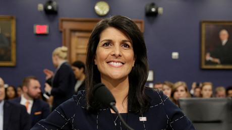 UN-Botschafterin der USA Nikki Haley