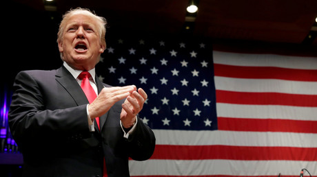 US-Präsident Donald Trump tritt auf der