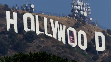 Blick auf den Hollywood-Schriftzug