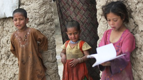 Afghanische Flüchtlingskinder (Archivbild)