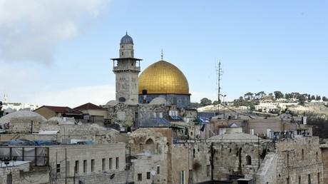 Der Tempelberg in Jerusalem.