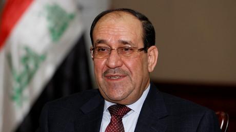 Der ehemalige Premier-Minister des Irak, Nuri al-Maliki, hier bei einem Interview mit Reuters in Bagdad, 12.  Januar 2014.