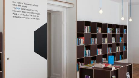 Aus und vorbei: Den Konzept-Buchladen Topics in Berlin-Neukölln gibt es nicht mehr.