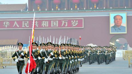 Peking am 1. Oktober 2016: Mit einer Parade feiert die Volksrepublik den 67. Jahrestag ihrer Gründung.