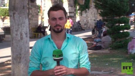 Khaled al-Khatib, Mitarbeiter von RT-Arabic, wurde Opfer des Terrors in Syrien.
