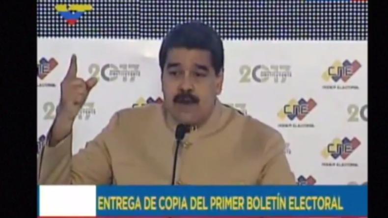 """Maduro: """"Ich gehorche keinen imperialen Befehlen"""" – Venezolanischer Präsident zu US-Sanktionen"""