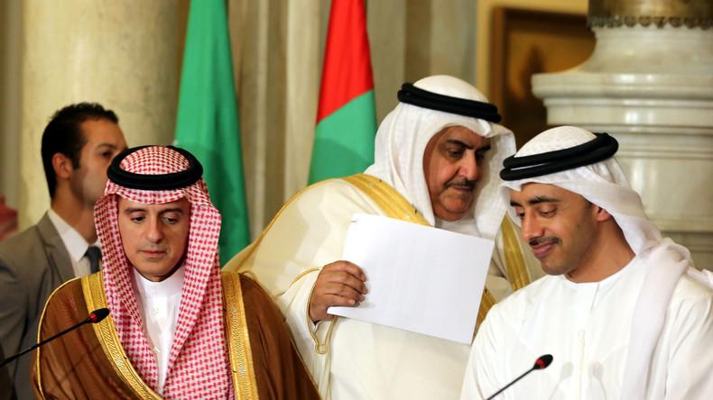 """Verbündete im Clinch: Emirate wollen """"säkularen Nahen Osten"""" - Saudis wittern """"Verschwörung"""""""