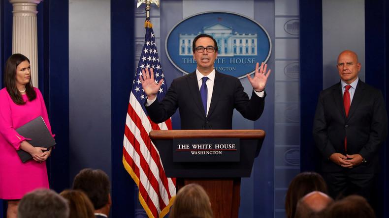 USA verhängen Sanktionen gegen venezolanischen Präsidenten Nicolas Maduro