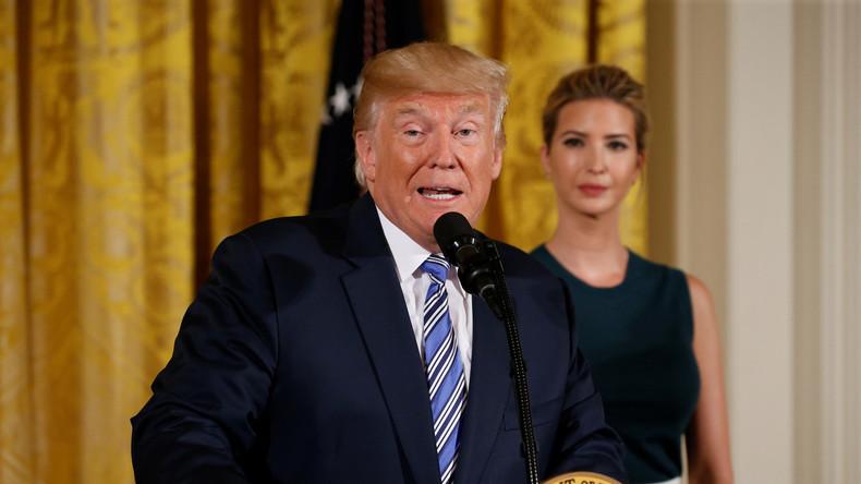 LIVE: US-Präsident Trump gibt Presseerklärung nach Unterzeichnung des Gesetzes über neue Sanktionen