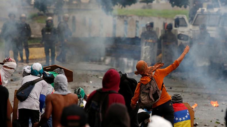 Live aus Caracas: Regierungsgegner demonstrieren gegen Wahl zur Verfassungsgebenden Versammlung
