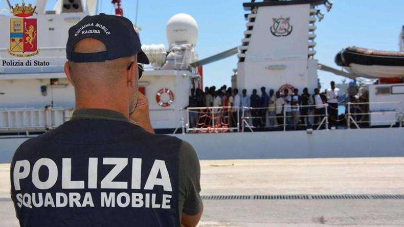 Schiff von deutscher Hilfsorganisation in Italien beschlagnahmt
