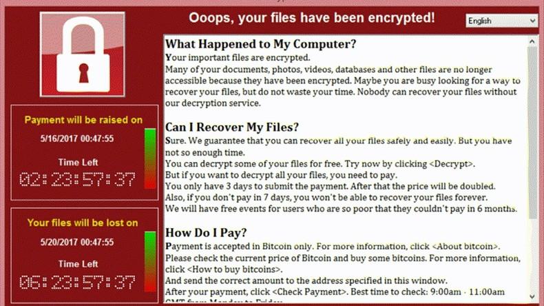 Geld aus Bitcoin-Wallets von Wanna Cry-Erpresser verschwunden
