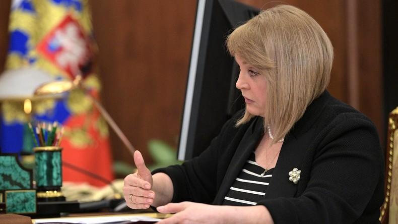 Chefin der russischen Wahlkommission: Mehr Konkurrenz bei Regionalwahlen erforderlich