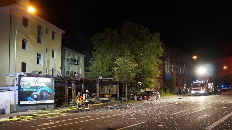 Sechs Verletzte bei Brand in Shisha-Bar in Gießen