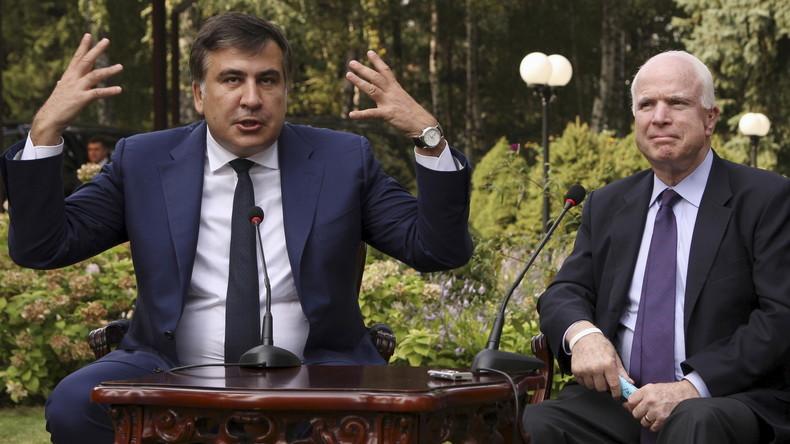 Saakaschwili lässt sich von Poroschenko nicht kleinkriegen - Fotos mit Trump und Co. zum Beweis