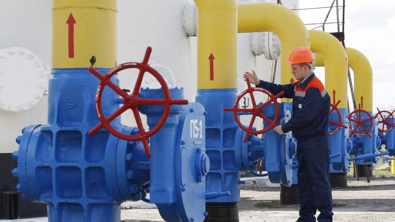 Ukraine steigert ihre Gasversorgung mit russischem Gas aus Europa um 240 Prozent