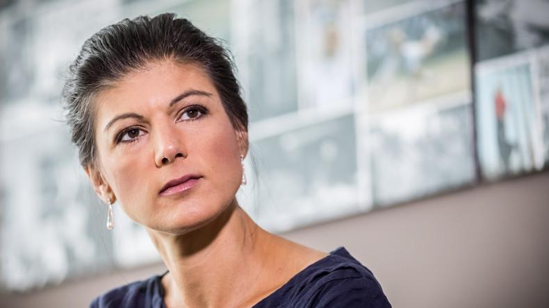 """Wagenknecht zu US-Sanktionen: """"Wie ein Schurkenstaat zum billigen Vorteil der eigenen Gasindustrie"""""""