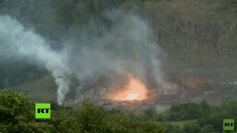 Abchasien: Munitionsdepot geht in die Luft –  50 Verletzte