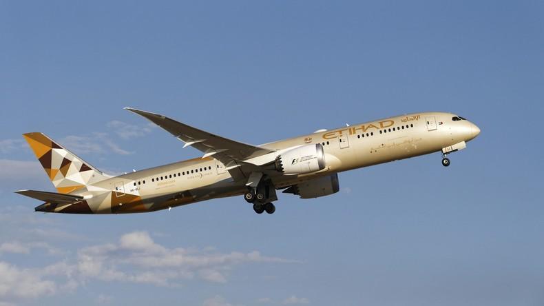 Australien: Islamisten wollten Bombe in Etihad-Jet platzieren