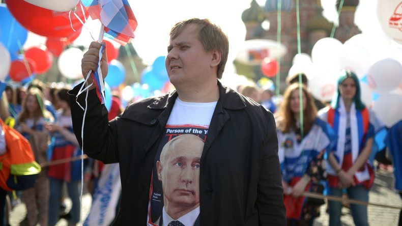 Aktuelle Umfrage in Russland: Putin erreicht Zustimmungswerte von 83 Prozent