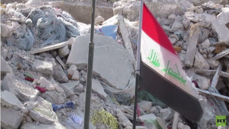 Mossuls Altstadt: Noch immer ein Friedhof inmitten von Ruinen – VERSTÖRENDE BILDER