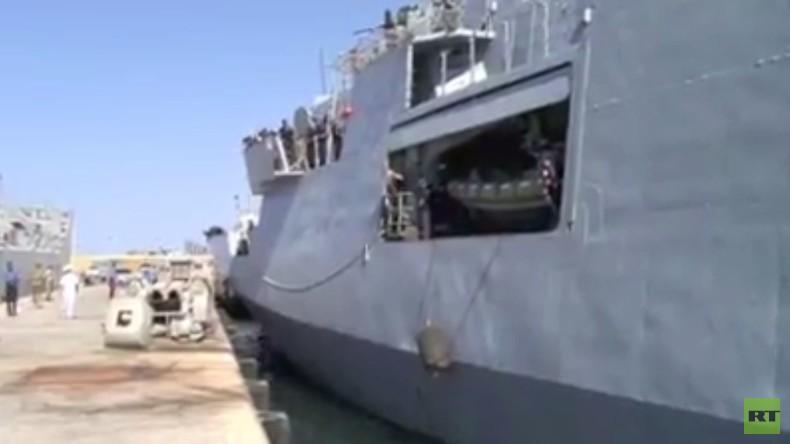 Italienisches Patrouillenschiff legt im Hafen von Tripolis an – Trotz Verbot durch Haftars Armee