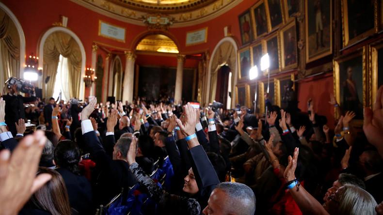 Trotz aller Appelle: Verfassungsversammlung in Venezuela gestartet
