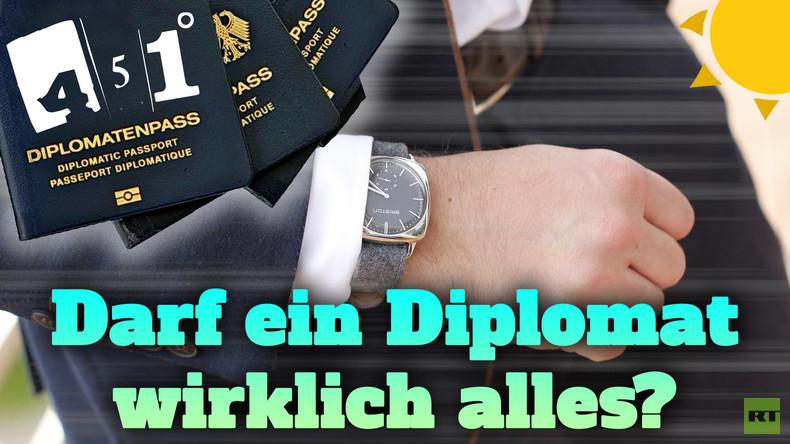 451 Grad Sommerpausensonderprogramm | Darf ein Diplomat wirklich alles?