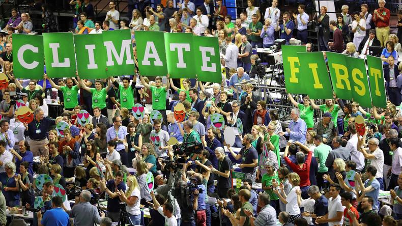USA reichen bei UN Austritt aus Klimaabkommen ein
