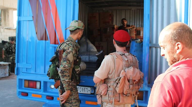 Syriens wichtigste Autobahn Homs-Hama ist wieder in Betrieb