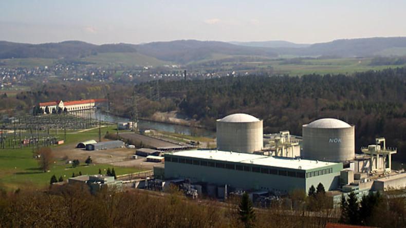 Schweizer Atomkraftwerk wird wegen Ölleck zum Teil abgeschaltet