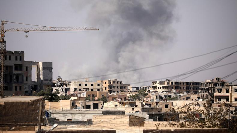 US-Sonderbeauftragter: Noch rund 2.000 IS-Kämpfer in Rakka