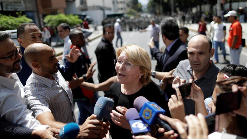 """Kolumbien bezeichnet Absetzung von Venezuelas Generalstaatsanwältin als """"diktatorischen Akt"""""""