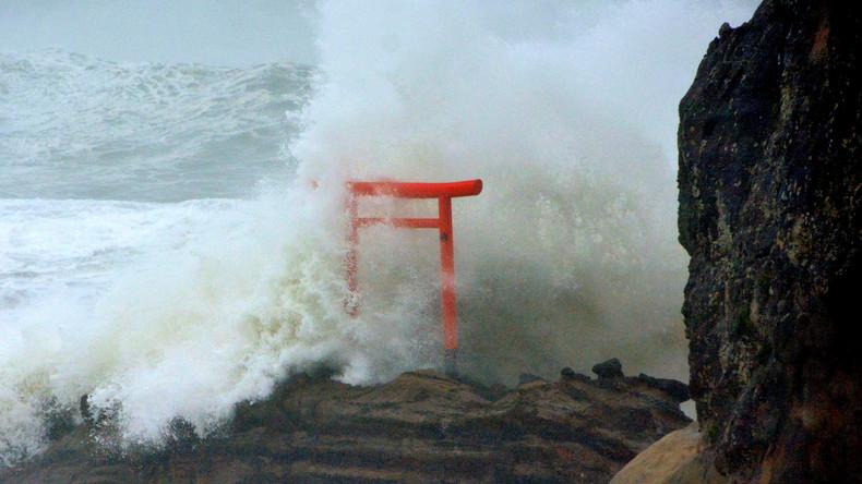 Wirbelsturm fordert in Japan mindestens zwei Menschenleben
