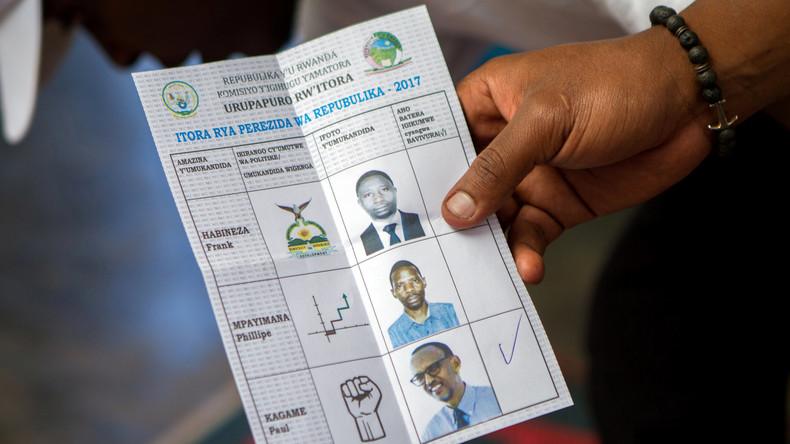 Ruandas Staatschef Paul Kagame gewinnt erneut Präsidentschaftswahl