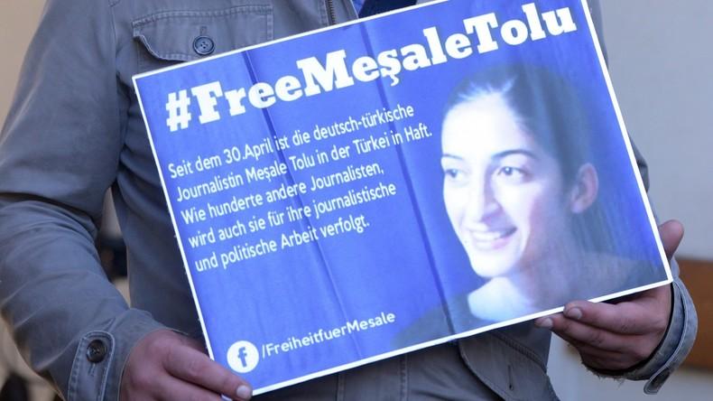 Deutscher Journalistin drohen bis zu 15 Jahre Haft in Türkei