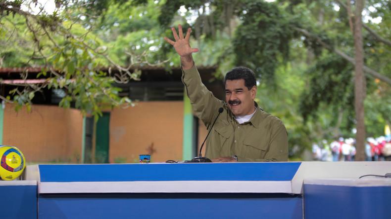 Nach Umsturzversuch in Venezuela: Maduro sieht US-Söldner am Werk